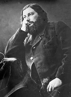 Gustave Courbet by Félix Nadar