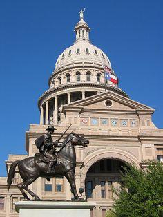 Texas State's Capitol. Austin, Texas by cazfoto, via Flickr