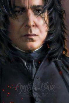 Severus Snape art