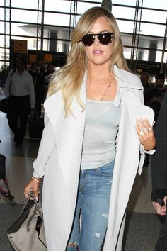 Pin for Later: The Kardashians Cause Major Mayhem After Touching Down in Armenia  The Kardashian sister looked ready for vacation.