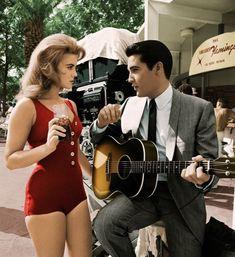 Ann-Margret and Elvis 1964