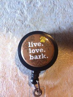 Veterinarian Vet Tech Animal Dog Bark Rescue by ThingsNStuffs. $6.26, via Etsy.
