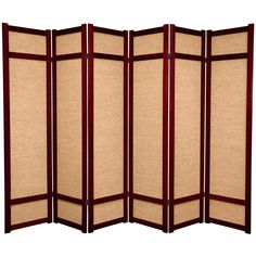 3 Panel Black Oriental Furniture Modern Furniture 6-Feet Helsinki Fabric Japanese Privacy Screen Room Divider