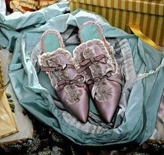Manolo Blahniks created for Sophia Coppola's Marie Antoinette