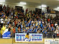 Afición de Jumilla festeja el gol del empate. Montesinos Jumilla - ElPozoMurcia. Fotos: Marian Montero @Moli_Montero
