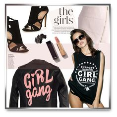 """""""The girls"""" by tanyaf1 ❤ liked on Polyvore featuring High Heels Suicide, Chicwish, Chanel, Bobbi Brown Cosmetics and Social Decay"""