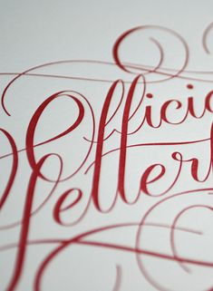 More Hand-Lettering Goodness by Ryan Hamrick | Inspiration Grid | Design Inspiration