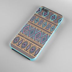 Aztec Blue CaseAztec iPhone 4 CaseTribal iPhone 5 by MonogramCover