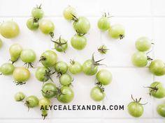 Green Tomato Chutney — alyce alexandra