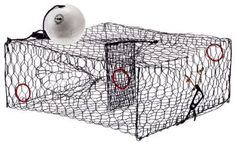 O&H Crab Trap Kit - 24'' x 24'' x 11''