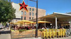 Big Star's patio