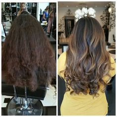 Before and after 😘😘😘@yulian.mp #angel_orbigoso #veritasalon #balayageartists #balayage #haironpoint #haironfleek #haircolor #haircolorist #colorist #hairstylist #hairartist #happyclient #beautifulhair #instahair #hairofinstagram #hairstyles #hairgoals #makeover #color #cut #blowdry #blowout #hairmakeover #lovemyclients #fall #fallhair #btconeshot #hairtransformation #hairtrends #shadeseq