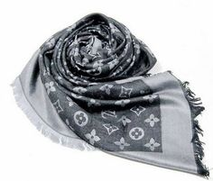 Louis Vuitton scarf! Can't wait til the slightest breeze blows! I will have on my LV scarf. Purchased in PARIS!