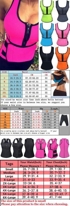 0a6e5d1ec7c Corsets and Bustiers 11522  Neoprene Sauna Vest Adjustable Waist Trainer  Corsets Belt Body Shaper Fat Burner -  BUY IT NOW ONLY   28.99 on  eBay   corsets ...