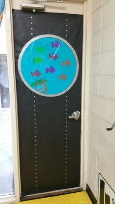 Under the Sea door decoration