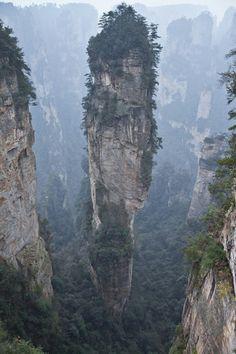 Tianzishan wulingyuan zhangjiajie