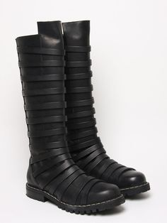 Gothified:    Gareth Pugh Men's High Strapped Boot