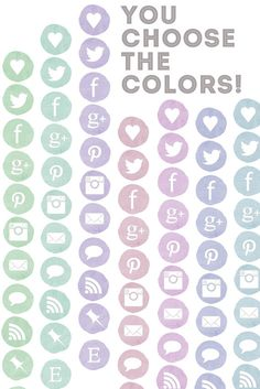 Social Media Icons Plus Installation. $10.00, via Etsy.