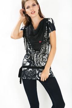 Desigual Black and White
