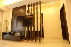 100 Room divider ideas - home wall partition design catalogue 2019 Living Room Partition Design, Living Room Divider, Room Partition Designs, Living Room Decor, Dining Room, Living Tv, Living Room Tv Unit, Living Room Modern, Living Room Designs