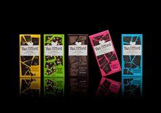 New visual identity for Van Ufford chocolate company in Ystad.