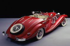 vintage everyday: 10 of the Most Beautiful Cars of the 1930s – The Decade Gave Birth to Some Iconic Designs That Were Ahead of Their Time. 1935 MERCEDES-BENZ 500K ROADSTER