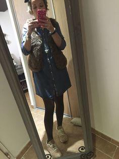 Ma robe en jean indispensable