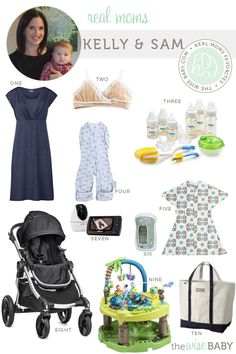Real Moms Favorite Baby Products - Kelly & Sam