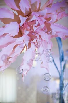 Photographer: Helen Shvaiko, magicphoto.by Wedding decor ideas, Pink Quartz by Victoria German Location: Robinson Club, Minsk, Belarus Pantone 2016 colors Rose Quartz Serenity inspiration