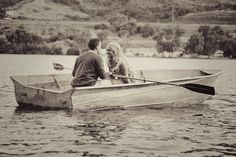 i have a weak spot for row boats, and true love.