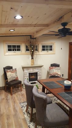 Marvelous We Wanted A Rustic Style Look For Our Back Room. So We Used Driftwood Oak Design Ideas