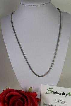 Netzkette aus Edelstahl Chain, Shop, Ebay, Jewelry, Fashion, Stainless Steel, Necklaces, Moda, Jewlery