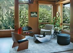Living Room in Aspen, CO by Sara Story Design