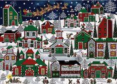 Americana Christmas (192 pieces)