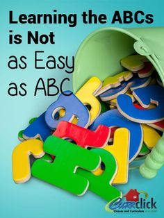 Learning the ABCs is