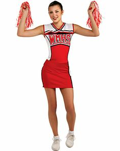 Cute Costumes for Teenage Girls | Customer Reviews for Teen Girls Cheerios Cheerleader Costume - Glee
