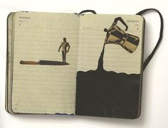 The Days Turned Over sketchbook || Pep Carrio