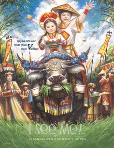 """Vietnam - As featured in """"My Very Own World Adventure"""" personalized children's book by I See Me!"""