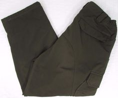 Men Columbia Titanium Hiking Cold Weather Fleece Lined Pants sz Medium