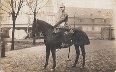 """Königsberg Kürassier-Regiment_""""Graf_Wrangel 1914 Soldat mit Säbel zu Pferd"""