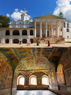 The most ancient structure in the city of Yaroslavl is the Transfiguration Monastery , which was erected on 13th-century foundations. One of the favorite monasteries of Ivan the Terrible, it was turned into a museum 150 years ago.