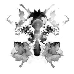 Smeared Wildlife Silhouettes - Robert Farkas Digitally Paints Inky Animal Illustration