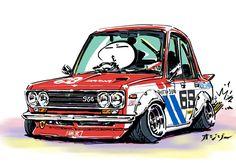 Ozizo in Tokyo (Datsun 510)