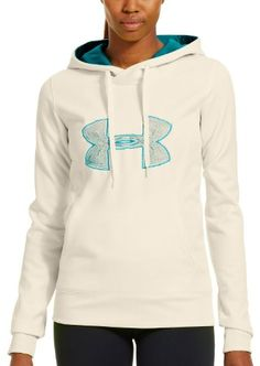Under Armour Women's Armour® Fleece Storm Embroidery Big Logo Hoodie « Clothing Impulse