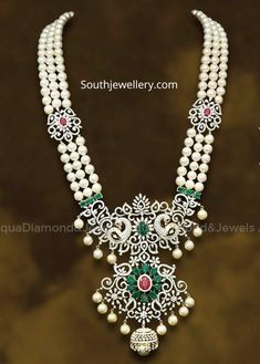 Indian Jewellery Designs - Page 21 of 1696 - Latest Indian Jewellery Designs 2020 ~ 22 Carat Gold Jewellery one gram gold Indian Jewelry Earrings, Silver Jewellery Indian, Indian Jewellery Design, Wedding Jewelry, Gold Jewelry, Beaded Jewelry, Jewellery Designs, Diamond Jewelry, Jewelery