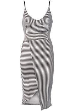 SEXY AND CUTE PANELLED STRIPED BODYCON CAMI DRESS – IKESHIA BOUTIQUE