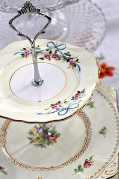 Vintage Cakestands | All available to hire from www.saddlewo… | Flickr