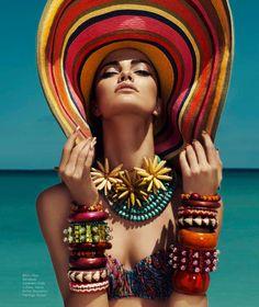 Barbara Fialho by Danny Cardozo for Harper's Bazaar Mexico July 2013 3