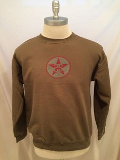 90s Vintage Stussy Sweatshirt, Size M, 80/20 Cotton/Poly, Made in USA