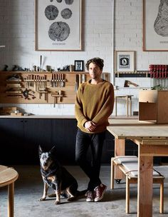 Meet Made By Morgen #furnituremaker Design Ppt, Design Blog, The Design Files, Design Studio, Logo Design, Design Concepts, Graphic Design, Workshop Studio, Workshop Design